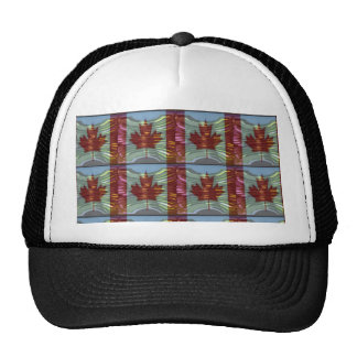 PROUD CANADIAN MAPLE LEAF Pattern Hat