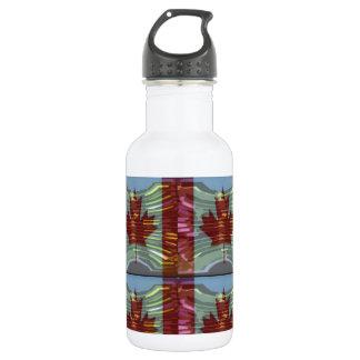 PROUD CANADIAN MAPLE LEAF Pattern Stainless Steel Water Bottle