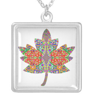 PROUD Canadian Maple Leaf Silver Plated Necklace
