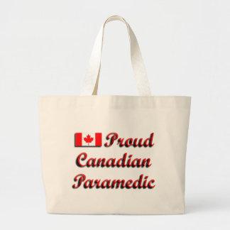 Proud Canadian Paramedic Beach Bag