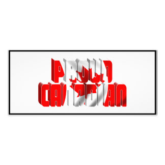 Proud Canadian Custom Rack Card