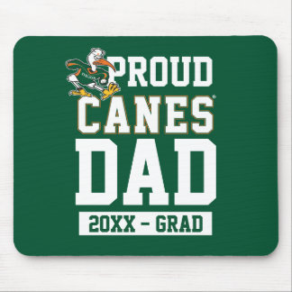 Proud Canes Dad with Class Year Mouse Pad