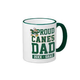 Proud Canes - Dark Ringer Coffee Mug