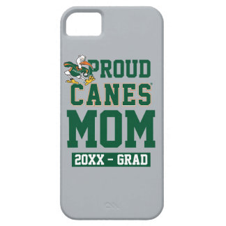 Proud Canes Mom with Class Year iPhone SE/5/5s Case