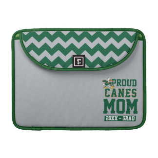 Proud Canes Mom with Class Year Sleeve For MacBook Pro