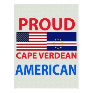 Proud Cape Verdean American Postcard