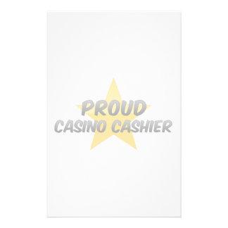 Proud Casino Cashier Stationery Paper