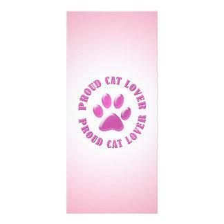Proud Cat Lover Custom Rack Card