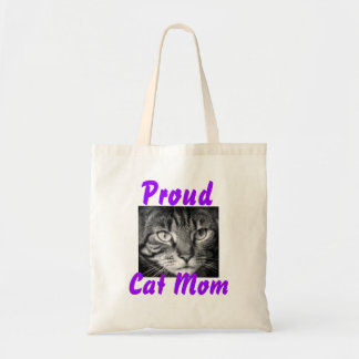 Proud Cat Mom Tote Bag