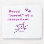 proud cat mousepad