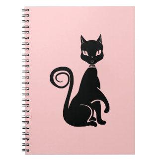 Proud Cat Spiral Notebook