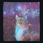 """Proud Cat With Space Background Bandana<br><div class=""""desc"""">Proud Cat With Space Background                                                                   cat,  meme,  space,  purple,  universe,  &quot;yellow eyes&quot;,  &quot;space cat&quot;,  &quot;meme cat&quot;,  &quot;in space&quot;,  &quot;cosmic cat&quot;,  &quot;cat galaxy&quot;,  &quot;cat staring&quot;,  sky,  pink,  beautiful,  cats,  background,  galaxy,  funny,  cool,  blue,  animal,  cosmos,  stars,  pet,  eye,  look,  eyes,  kitty,  nebula,  kitten,  psychedelic,  adorable,  proud,  domestic,  feline,  lovable, </div>"""