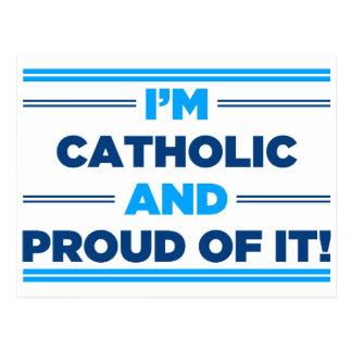 Proud Catholic Post Card