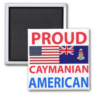 Proud Caymanian American Magnets