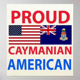 Proud Caymanian American Print