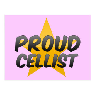 Proud Cellist Postcard
