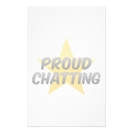 Proud Chatting Stationery
