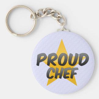 Proud Chef Keychain