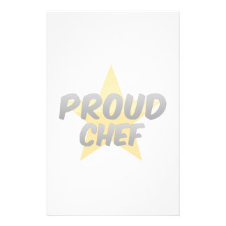 Proud Chef Stationery