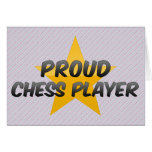 Proud Chess Player Card