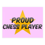 Proud Chess Player Post Card