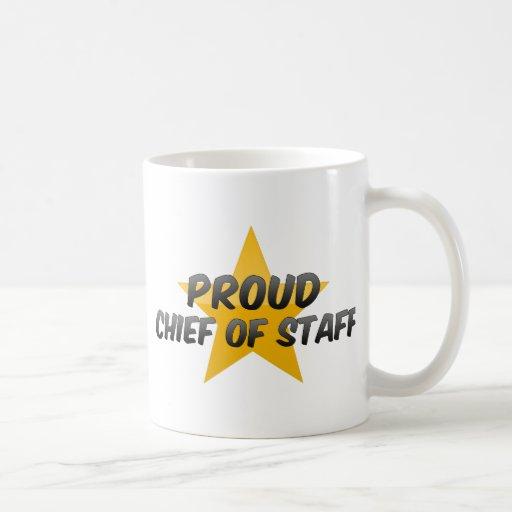 Proud Chief Of Staff Mugs