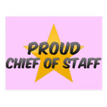 Proud Chief Of Staff Post Cards
