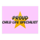 Proud Child Life Specialist Post Cards
