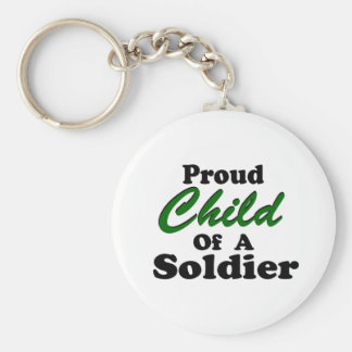 Proud Child Of A Soldier Keychain