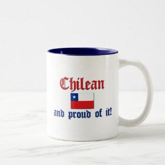 Proud Chilean Two-Tone Coffee Mug
