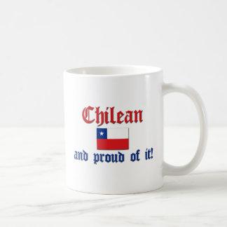 Proud Chilean Classic White Coffee Mug