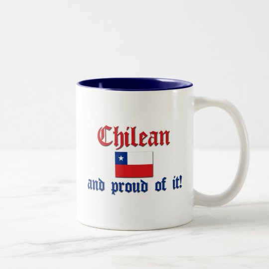 Proud Chilean Two-Tone Coffee Mug