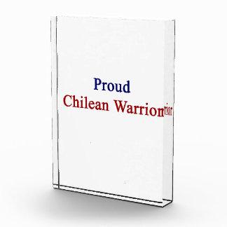 Proud Chilean Warrior Award