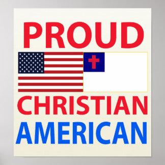 Proud Christian American Print