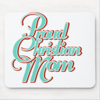 Proud Christian Mom Mouse Pad
