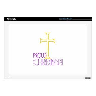 Proud Christian Skins For Laptops