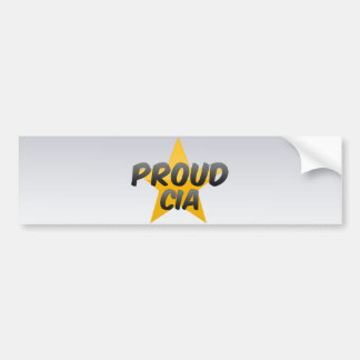 Proud Cia Bumper Sticker