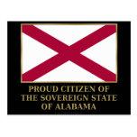 Proud Citizen of  Alabama Post Cards