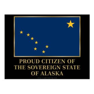 Proud Citizen of Alaska Post Card