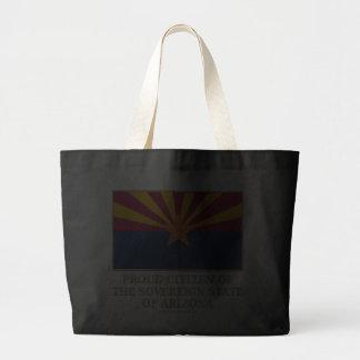 Proud Citizen of  Arizona Canvas Bag