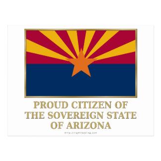 Proud Citizen of  Arizona Postcard
