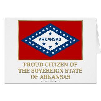 Proud Citizen of  Arkansas Card