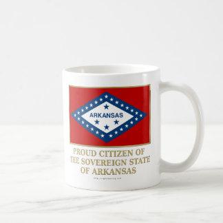 Proud Citizen of  Arkansas Coffee Mug
