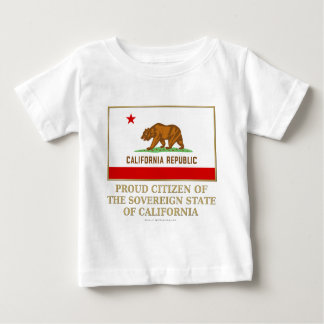 Proud Citizen of  California Infant T-shirt