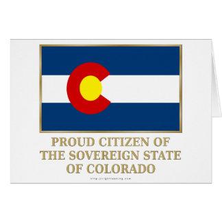 Proud Citizen of  Colorado Cards