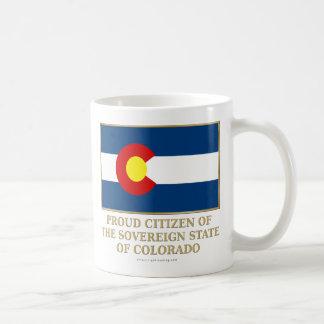 Proud Citizen of  Colorado Coffee Mug