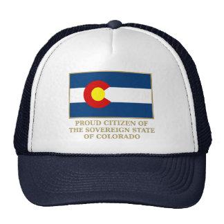 Proud Citizen of  Colorado Mesh Hat