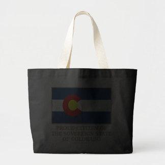 Proud Citizen of  Colorado Tote Bag