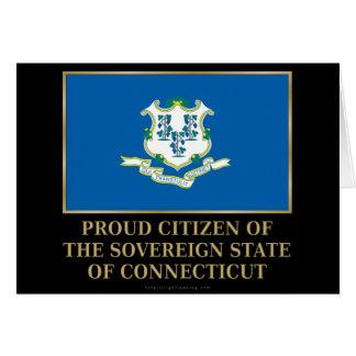 Proud Citizen of  Connecticut Card