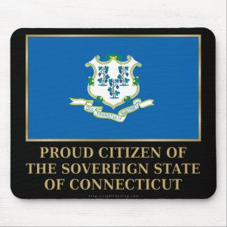 Proud Citizen of  Connecticut Mouse Pad